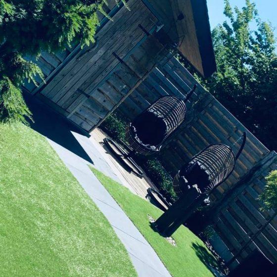 Fauteuils suspendus de jardin