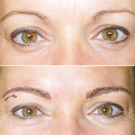 Maquillage des sourcils