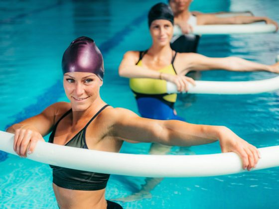 Exercices dans l'eau